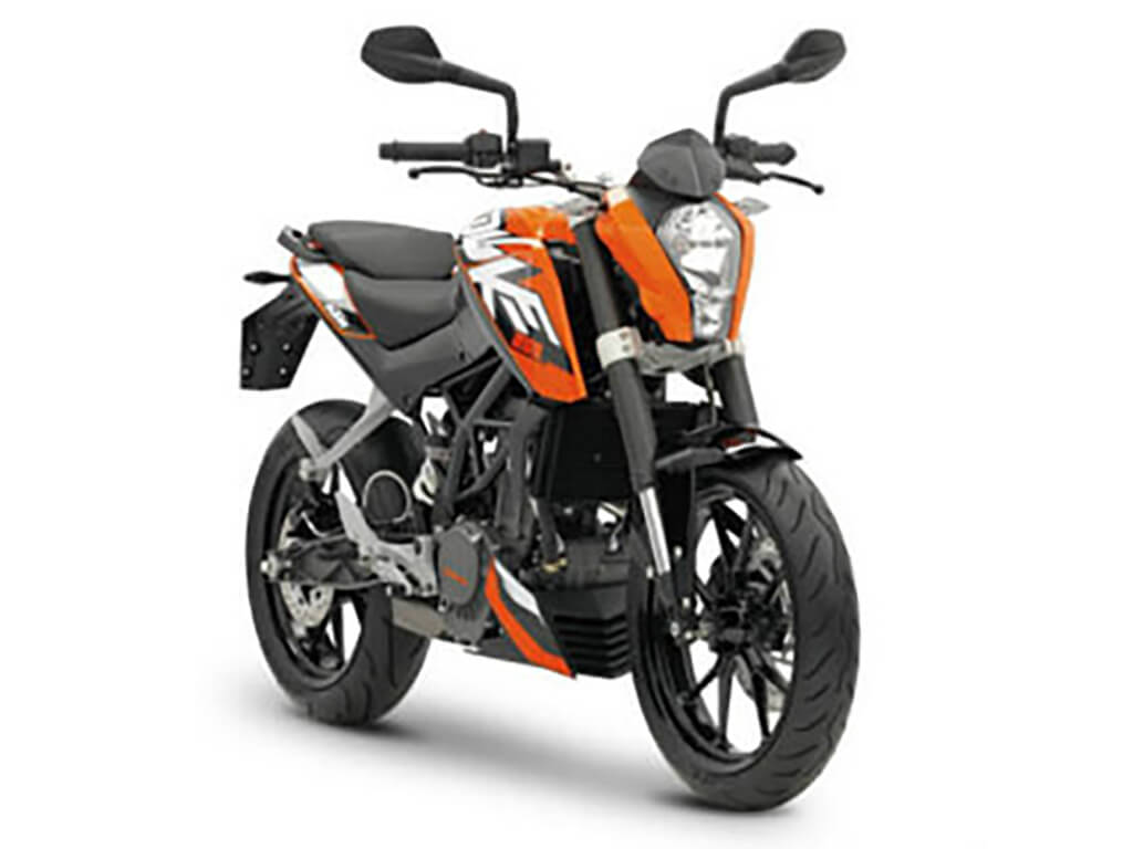 ktm duke 200 standard price in india specifications and features