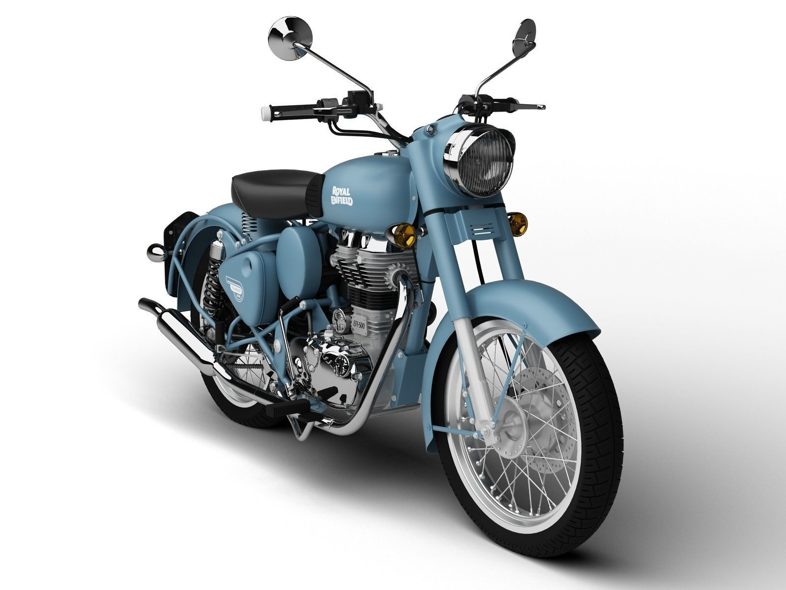 Royal Enfield Classic Squadron Blue Price in India, Classic Squadron ...