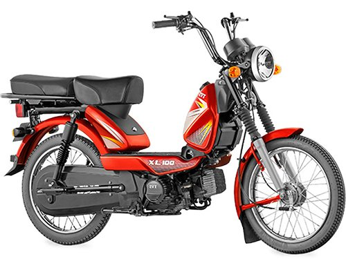Tvs Xl 100 Price In India Xl 100 Mileage Images Specifications