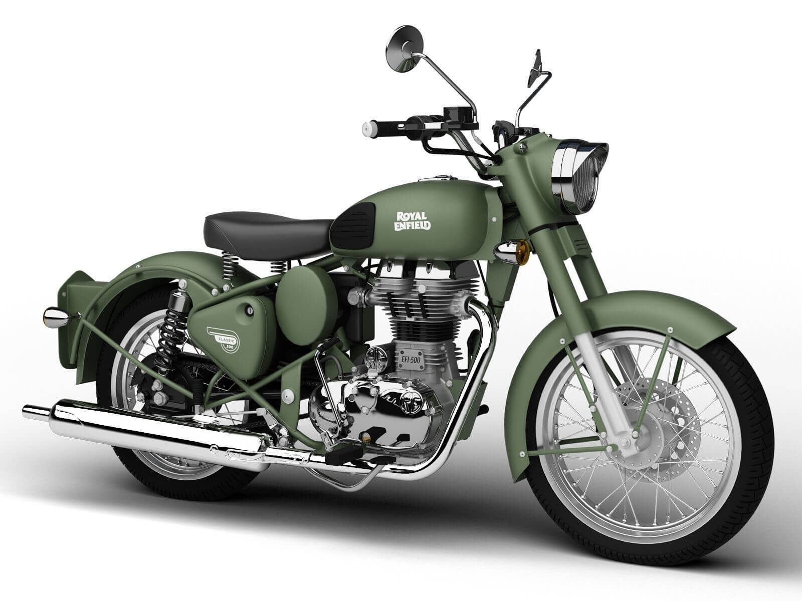 Royal Enfield Clic Battle Green Price In India Mileage Images Specifications Autoportal
