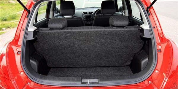 Suzuki Wagon R Boot Space