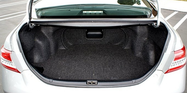 Toyota Camry 2015 2018 Boot Space Capacity Liters