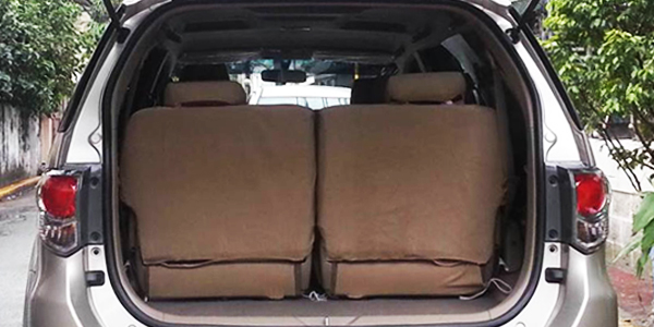Toyota Fortuner Boot Space Capacity Liters How Many Seats