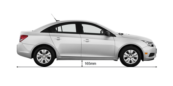 Used Chevy Spark >> Chevrolet Cruze Ground Clearance MM, vs verna, honda city, diesel | AutoPortal.com
