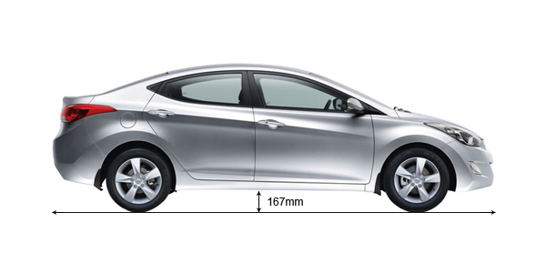 Hyundai Elantra Ground Clearance MM | AutoPortal.com