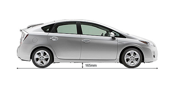 Toyota Prius Ground Clearance Mm Autoportal Com