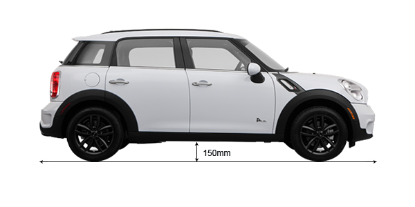 Compare Mini Countryman 2017 2018 Ground Clearance With Alternatives