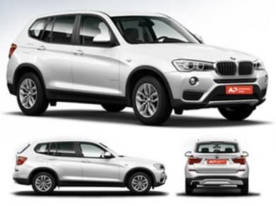 Bmw X3 2017 2018 Has A Boot E Of 550 Liters
