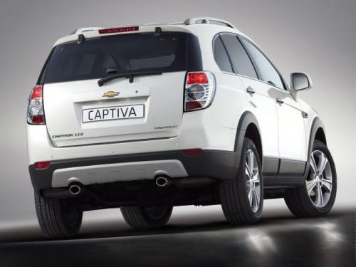 Chevrolet Captiva Interior and Exterior Pics & Videos | Autoportal.com