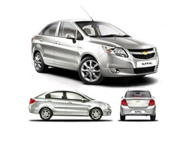 Chevrolet Sail Has A Fuel Tank Capacity Of  Liters