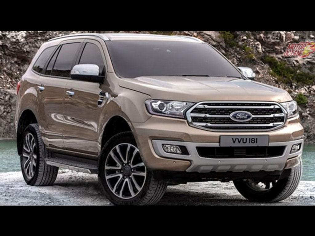 2019 Ford Endeavour Facelift Price Launch Date In India Review Images Interior
