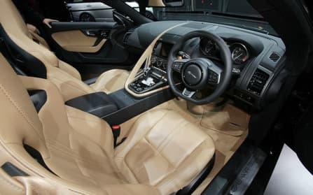 Jaguar F Type Interior