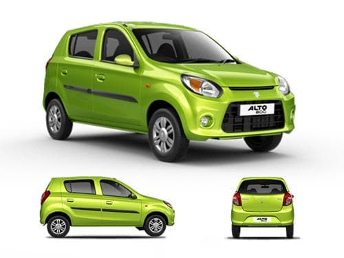 Maruti Suzuki Alto 800 Price In India Avail January Offers