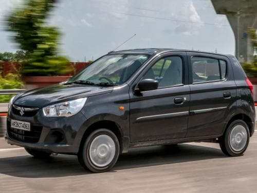 Maruti Suzuki Alto K10 - Price in India(Avail September