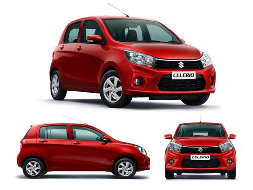 Maruti Suzuki Celerio - Top Celerio Petrol and sel models in India