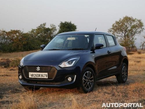 Maruti Suzuki Swift VXi AMT (Petrol) Price in India, Images