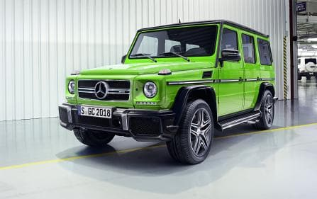 Mercedes-Benz G-Class Overview