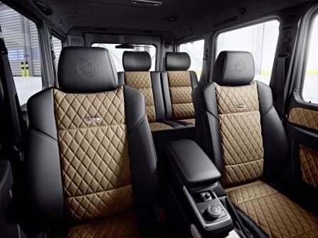 Mercedes-Benz G-Class Interior - Photo