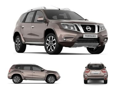 Nissan Terrano Has A Fuel Tank Capacity Of  Liters