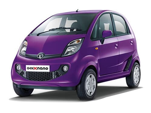 Tata Cars Price List In India Nano Genx