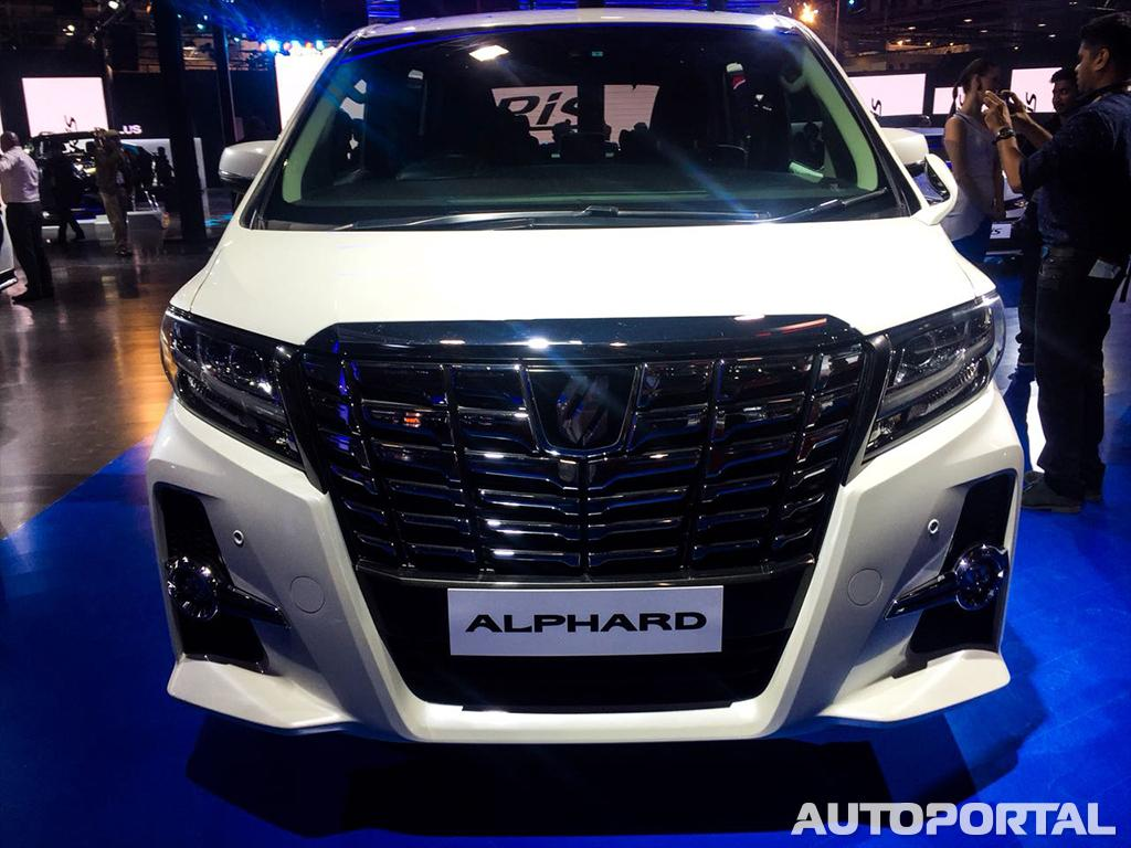 Toyota Alphard Price Launch Date In India Review Images
