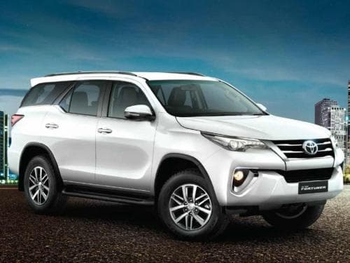 Toyota Fortuner - Price in India(Avail September Offers