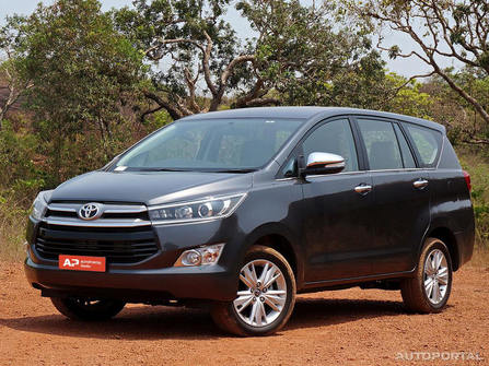 Toyota Innova Crysta Overview