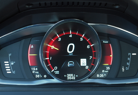 Volvo S60 Cross Country Mileage