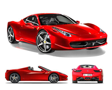 High Quality Ferrari 458 Spider