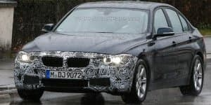 Facelifted BMW 3-Series caught testing