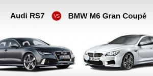 Quick Comparo: 2014 BMW M6 Gran Coupe v/s 2014 Audi RS7 Sportback