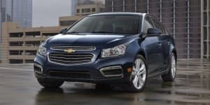 2015 Facelifted Chevrolet Cruze for New York Auto Show