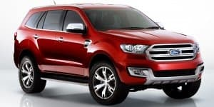 New Ford Everest Concept showcased at 2014 Beijing Motor Show