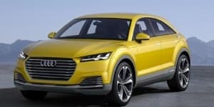 Audi TT Offroad Concept showcased at the 2014 Beijing Motor Show