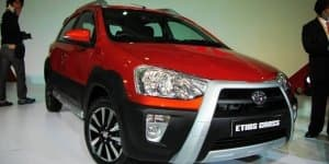 Toyota Etios Cross to be offered in four variants