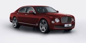 Limited Edition Bentley Mulsanne 95 celebrates brand's 95th anniversary