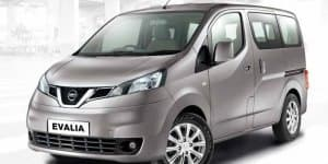 Nissan Evalia Facelift launched in India