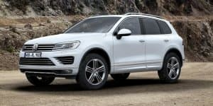 Volkswagen reveals new Touareg