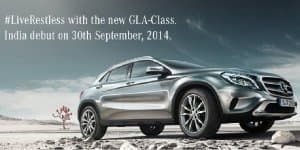 Mercedes-Benz GLA-Class SUV launching on September 30