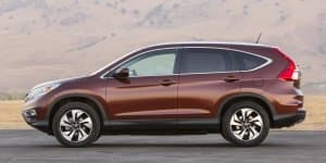 2015 Honda CR-V facelift revealed