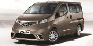 Nissan Evalia Special Variant Launched at Rs. 11.62 Lakhs