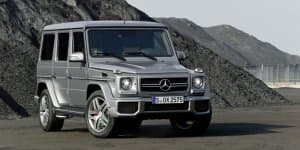 2016 Mercedes G-Class to be more aggressive