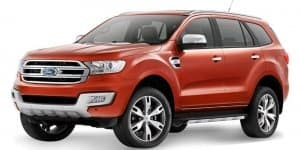 2015 India-bound Ford Endeavour Unveiled