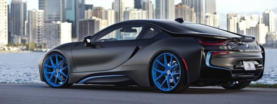 Customized Black Bmw I8 Looks A World Apart Autoportal