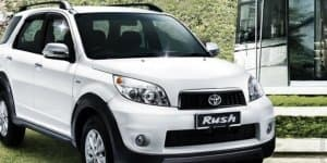 Toyota Rush MPV Spied as Test Mule in India; Images Inside