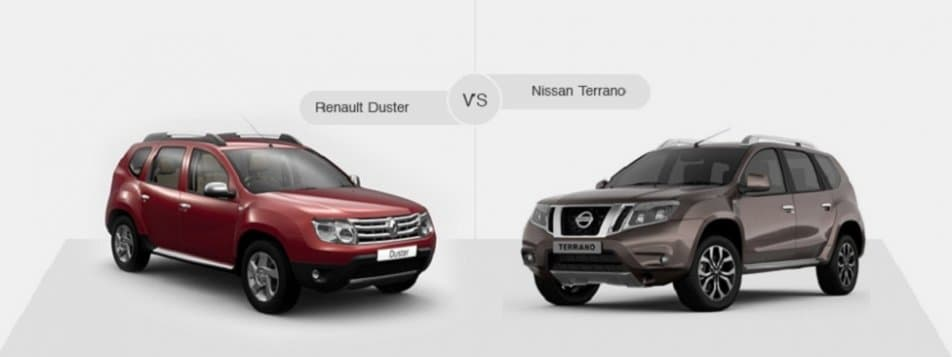 We Buy Used Cars >> Compare Renault Duster Vs Nissan Terrano- AutoPortal
