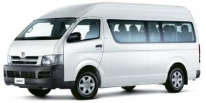 Toyota Hiace 10-seater Commuter Showcased in India