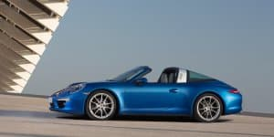 Porsche 911 Targa Launched at Rs. 1.59 Crores