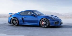 High-Performance Porsche Cayman GT4 Revealed