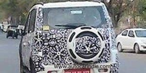 2015 Mahindra Quanto Facelift Spied Testing